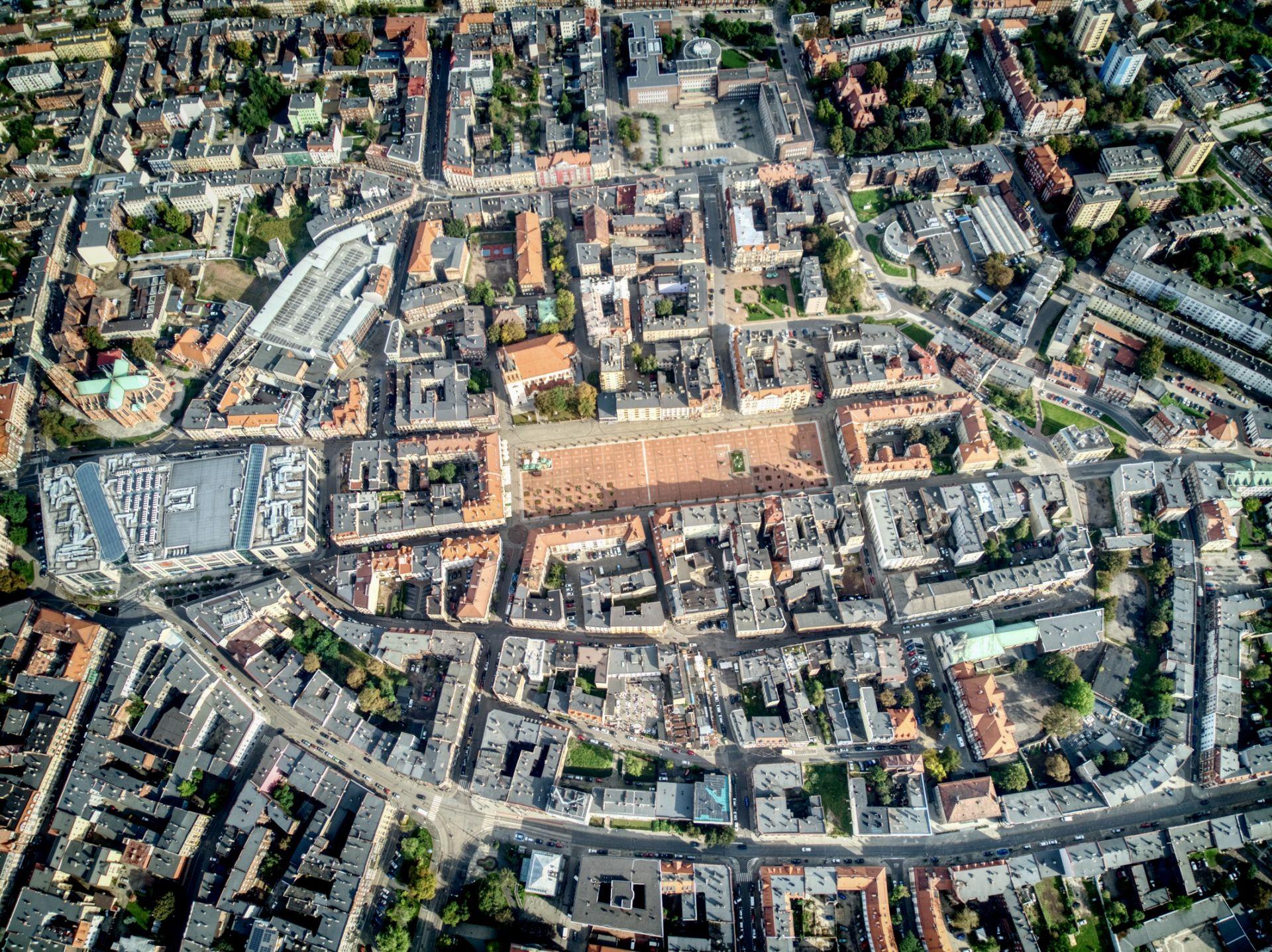 Średniowieczny układ Śródmieścia