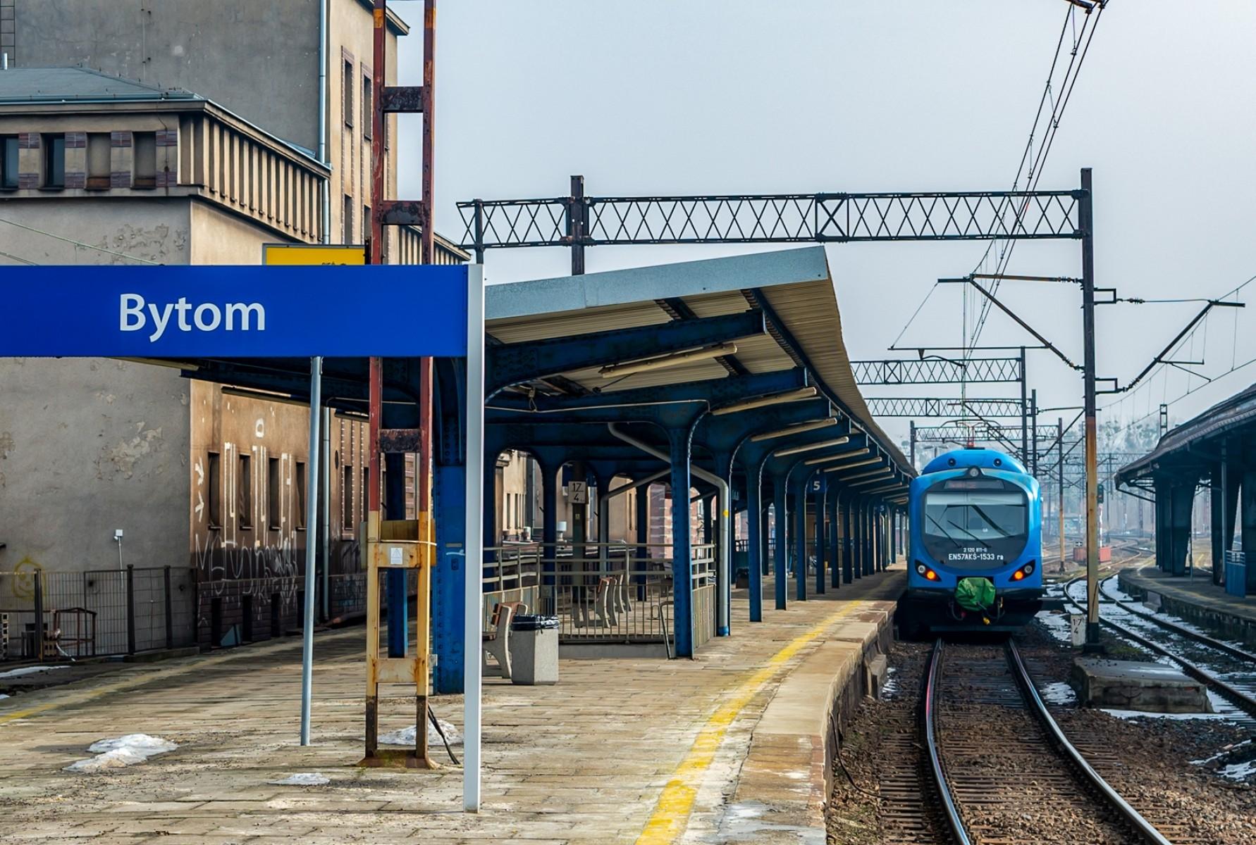 Zerwana sieć trakcyjna. Odwołane pociągi na trasie Bytom - Chorzów - Katowice