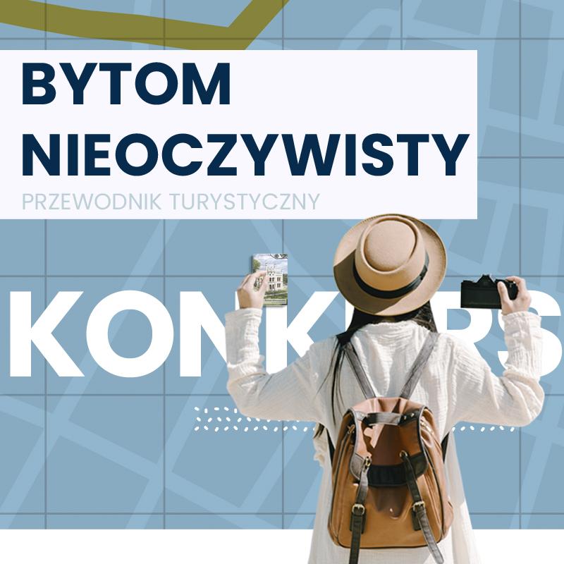 Plakat informacyjny zachęcający do wzięcia udziału w konkursie