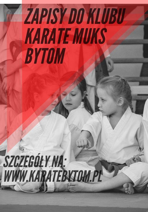 Najlepszy klub karate tradycyjnego na Śląsku ogłasza nabory do grup dla początkujących