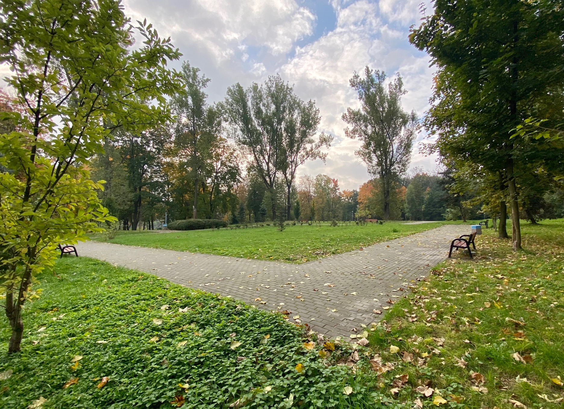 Skwer w Parku Amendy